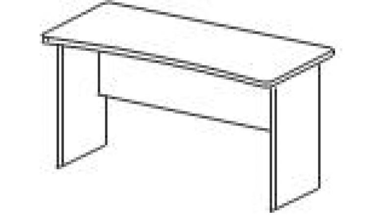 БЕРЛИН Стол прямоугольный глубиной 65 см BM250