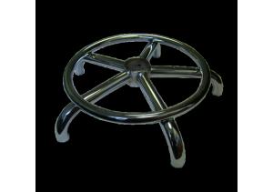 Крестовина хром с кольцом для ног 400 м