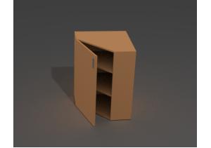 Шкаф угловой закрытый ШЗ-10