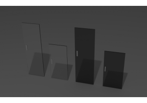 Двери шкафа стекло ДС-03