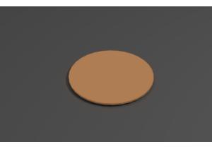 Столешница круглая D-5