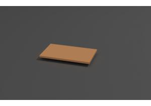 Полка под клавиатуру ПК-01