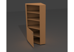 Шкаф угловой комбинированный ШК-06