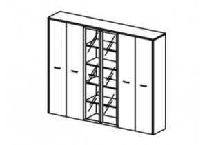 Шкаф комбинированный -Lux 5