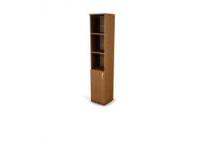 Шкаф-стеллаж левый 5-уровней UNO_ШС25-04L