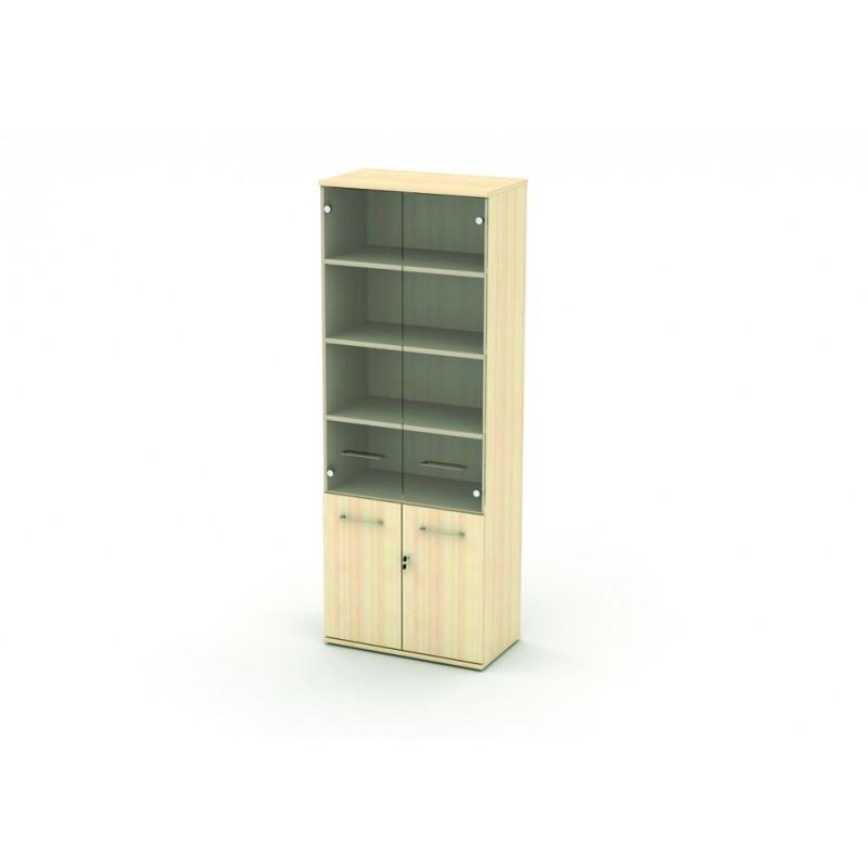Шкаф со стеклом 5 уровней