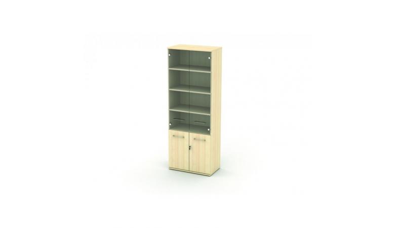 Шкаф со стеклом 5 уровней MR4.07