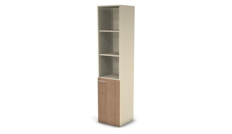 Модуль шкафа 5 ур. ДСП прав. (стекло) 49H031.101.1
