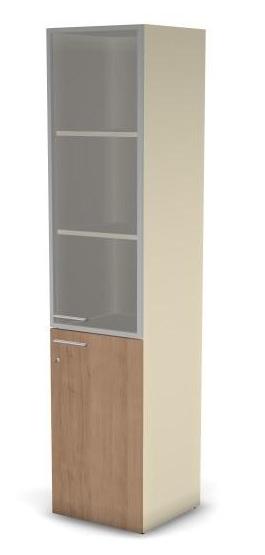 Модуль шкафа 5 ур. MDF правый, с замком 49H031.310.1