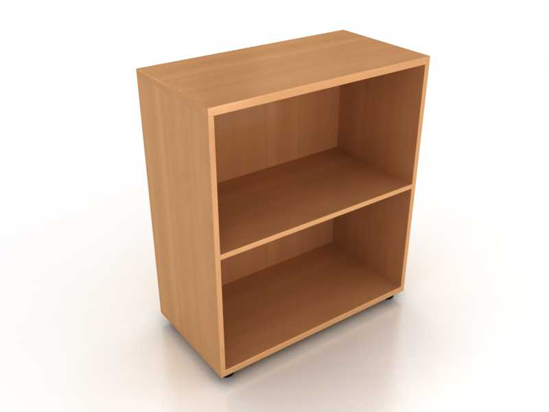 Шкаф открытый два уровня Лайт