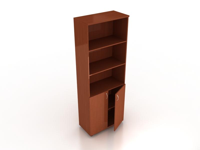 Шкаф с полками комбинированный ШК-02