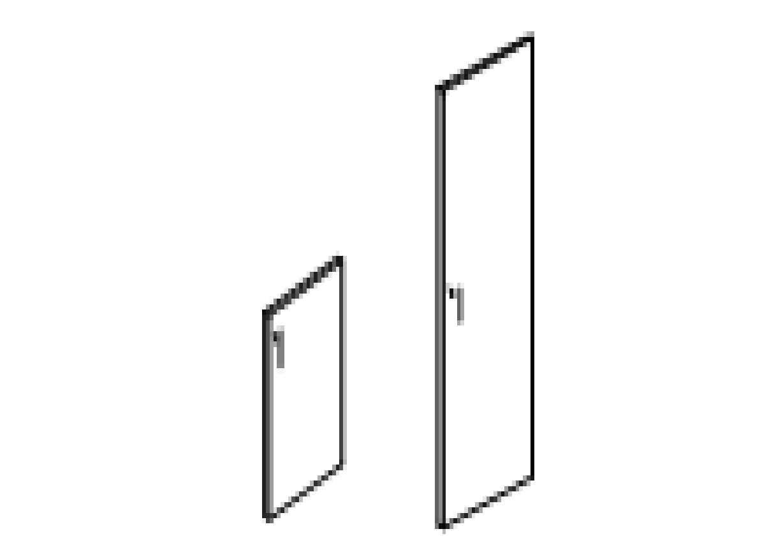 Двери с замком