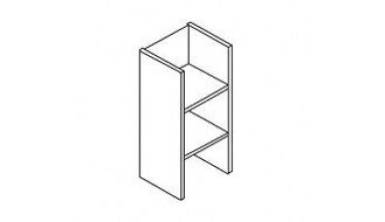Каркас шкафа узкий 3 уровня В-421