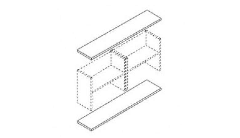 Горизонтальные панели для шкафов В-810