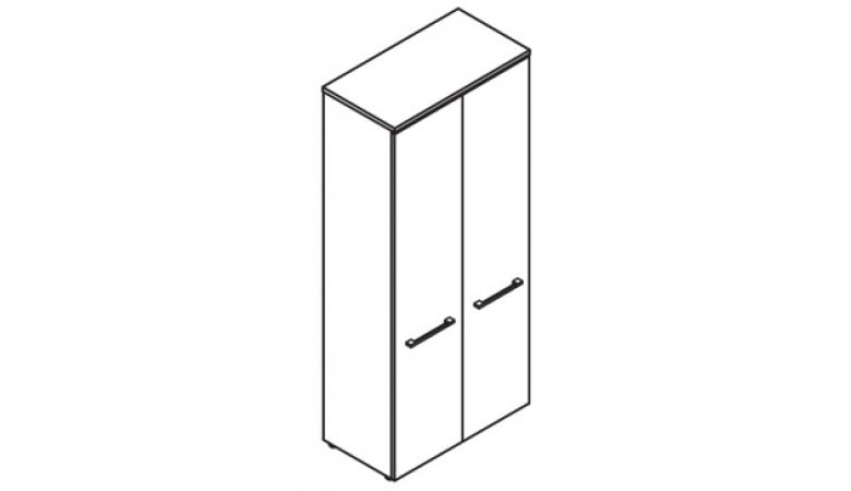 Шкаф с глухими дверьми DHC 85.1