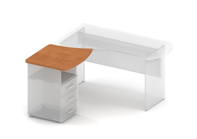 Элемент асимметричного рабочего стола прав./лев.
