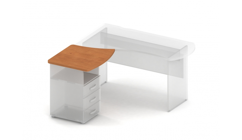 Элемент асимметричного рабочего стола прав./лев. 349226/340227