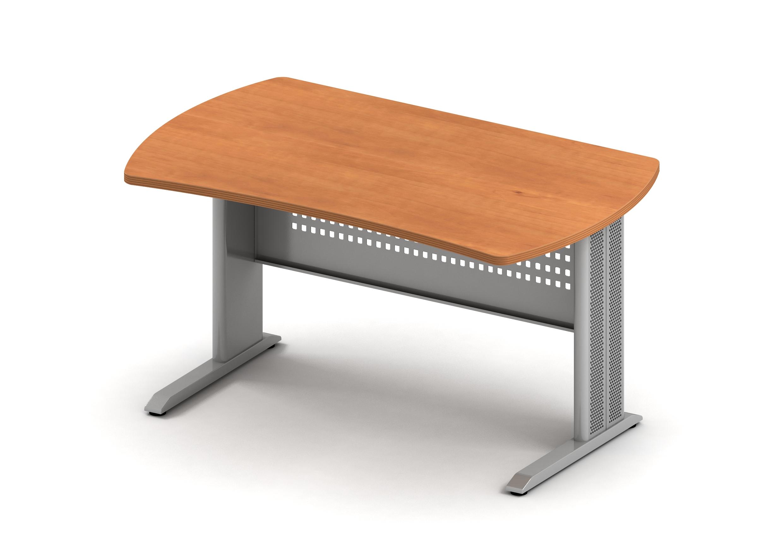 БЕРЛИН Стол прямой/симметричный на метал. опоре