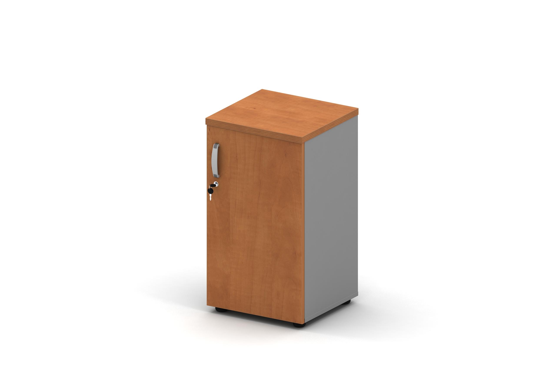 Шкаф узкий закрытый 2 уровня