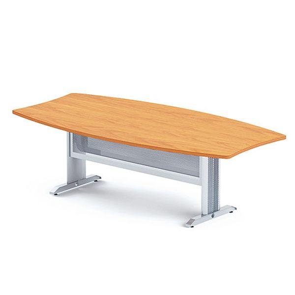 Конференц-стол на металлическом каркасе