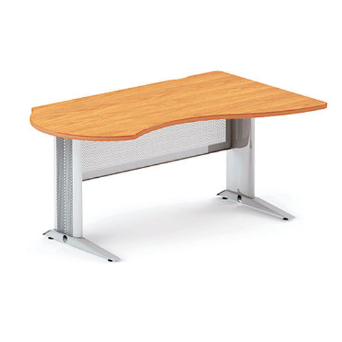 Берлин стол асимметричный правый на L-образном каркасе правый
