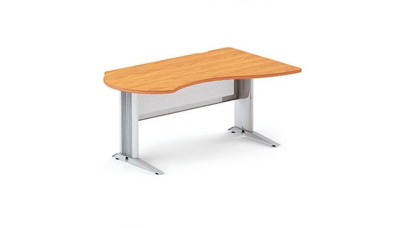 Берлин стол асимметричный правый на L-образном каркасе правый B114/1