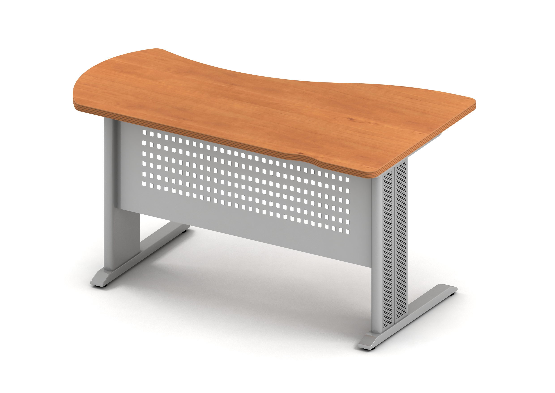 Берлин стол асимметричный левый на L-образном каркасе левый