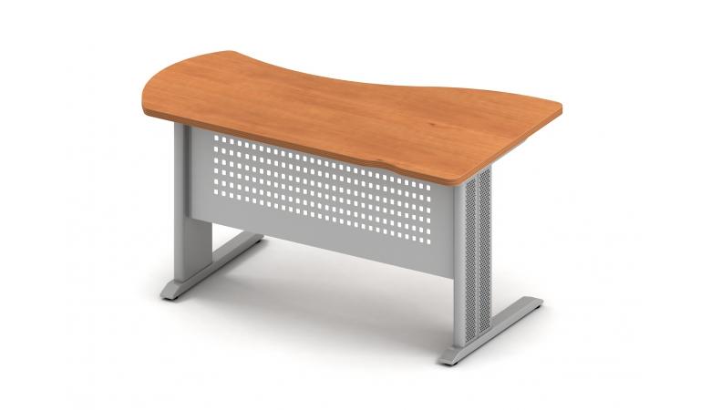 Берлин стол асимметричный левый на L-образном каркасе левый  B117/1