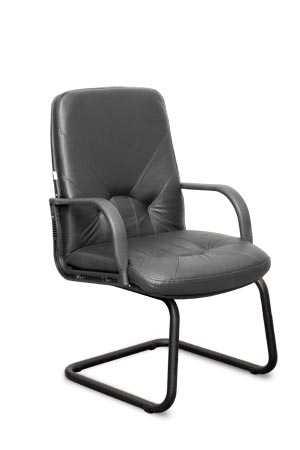 Кресло Комо пластик на полозьях с низкой спинкой