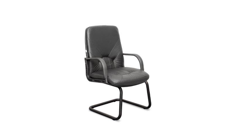 Кресло Комо пластик на полозьях с низкой спинкой КОМО/ПЛ/ST/О