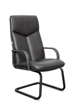 Кресло К-04 на полозьях (пластик) Эскудо