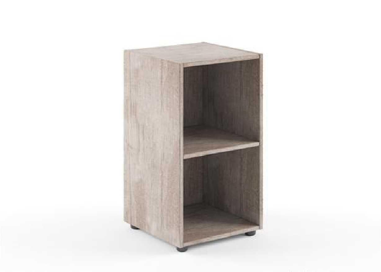 Шкаф узкий 2 уровня