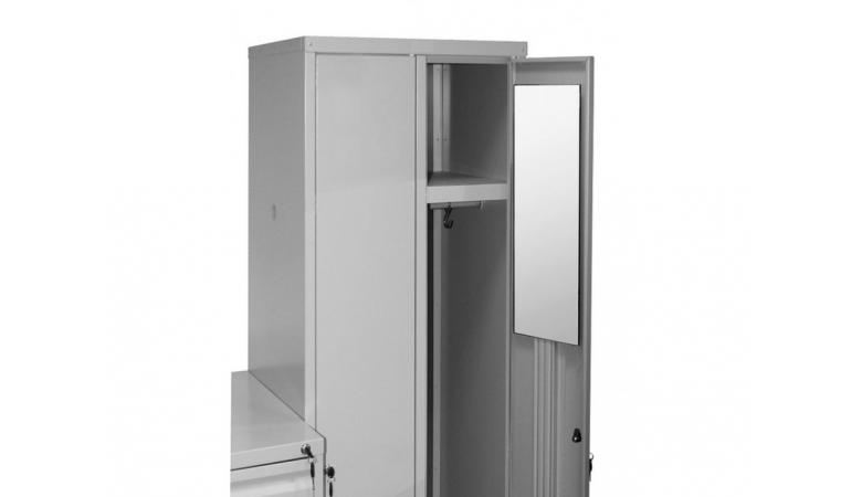 Зеркало для металлического шкафа Классик-10