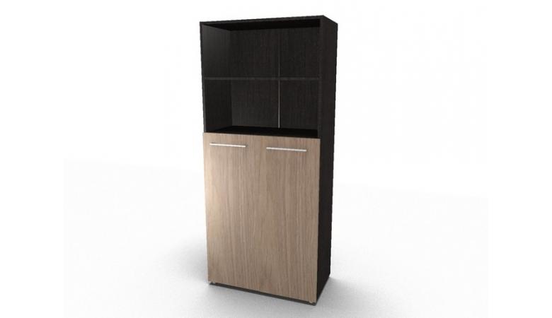 Шкаф с глухими средними дверьми и топом АРТИКУЛ: AHC 85.6