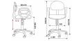 Кресло Бюрократ CH-213AXN/15-155