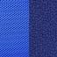 Сетка синяя/Ткань 15-10 темно-синяя