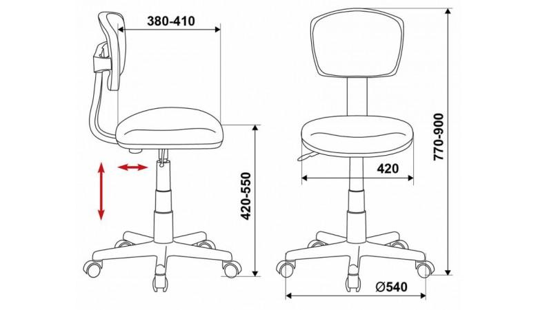 Кресло Бюрократ CH-299/ABSTRACT