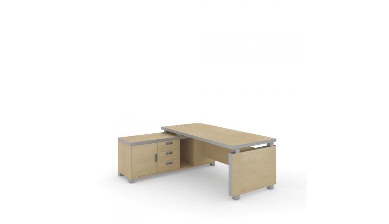 Стол письменный с приставкой Edvard EDV19910301