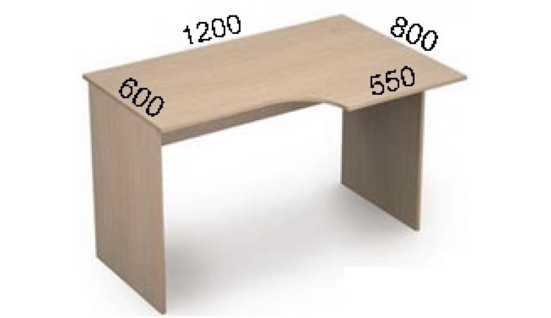 Стол криволинейный 3С.041(лев) *