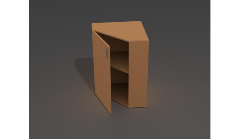 Шкаф угловой закрытый ШЗ-15