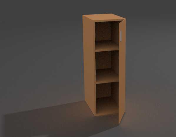 Шкаф колонка закрытый ШЗ-08