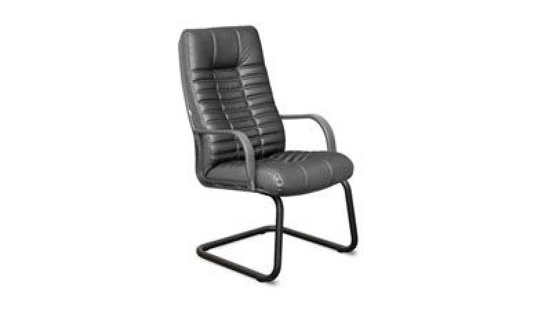 Кресло Атлант К44 пластик на полозьях К44/ПЛ/O