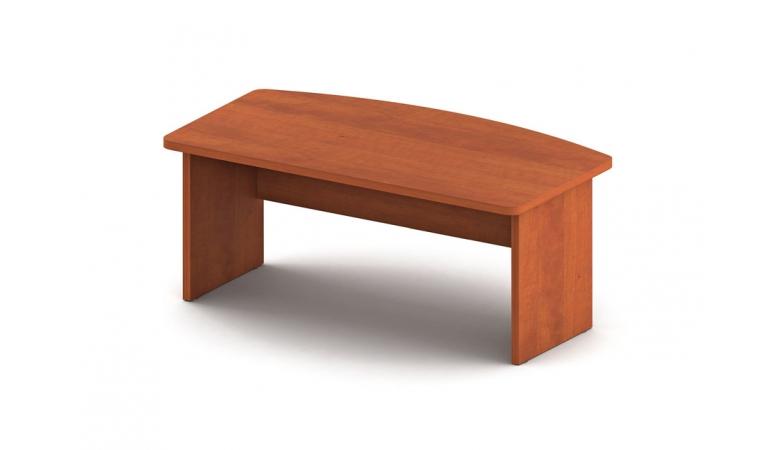 Стол письменный с внешней фигурной столешницей СТ9-R16