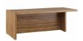 Стол письменный с асимметричными опорами, правый  SOL29710701