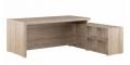 Стол письменный на опорной тумбе, правый SOL29711101