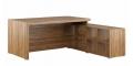 Стол письменный на опорной тумбе, правый  SOL29710901