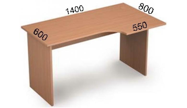 Стол криволинейный 2С.042(лев)
