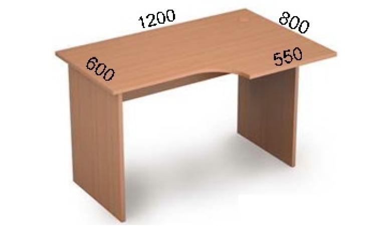 Стол криволинейный 2С.041(лев)