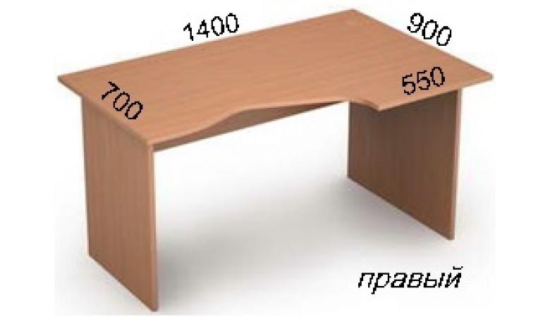 Стол криволинейный 2С.023(прав)