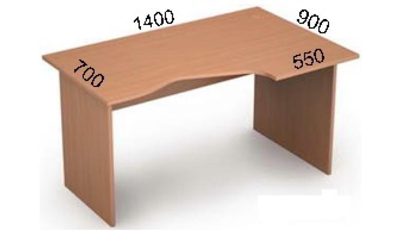 Стол криволинейный 2С.022(лев)